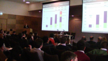 Michael Reed from the US Department of Energy presents at the 2010 SuperGen Marine Annual Assembly